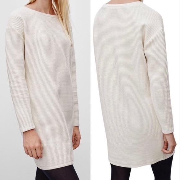 Talula Yorkshire Ribbed Oversized Sweater Dress XS